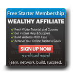Wealthy Affiliate side button
