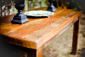 Fine woodwork table