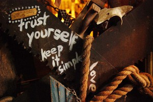 trust yourself and keep it simple image