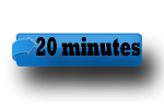 20 minute button hypotext
