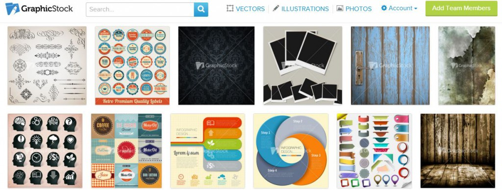 GraphicStock review page banner