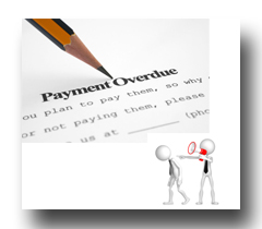 overdue payments and job loss
