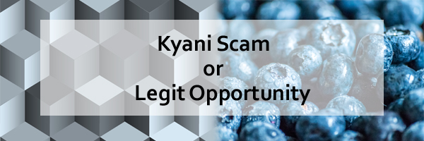 Kyani Scam or legit Opportunity