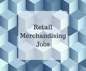 Retail Merchandiser Job Search