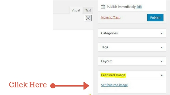 Set Featured Image Hyperlink Location in WordPress