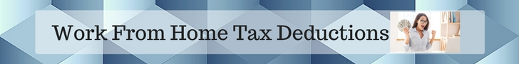 Work From Home Tax Benefit Banner