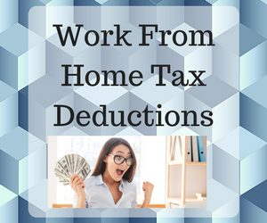 Tax Deductions for work from home office feature