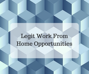 Legit Work From Home