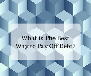 The best way to pay of debt